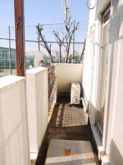 【バルコニー】東武サンライズマンション
