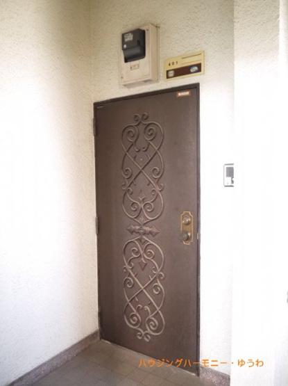 【玄関】東武サンライズマンション