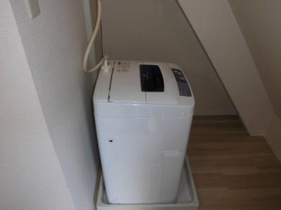 洗濯機有り
