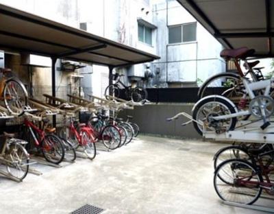 【駐輪場】グランドガーラ西新宿ウエスト