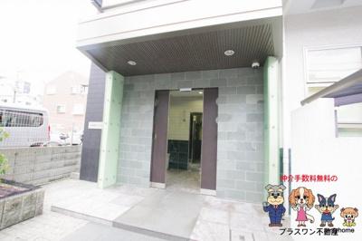 【ロビー】十三本町ウインズマンションⅡ