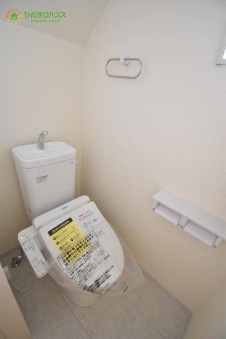 【トイレ】見沼区小深作 第2 新築一戸建て リーブルガーデン 02