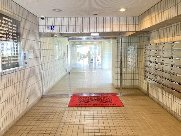 【エントランス】ライオンズマンション水戸