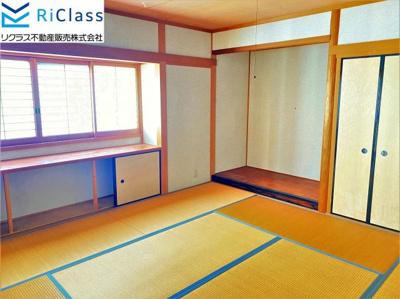 2階8帖の和室です
