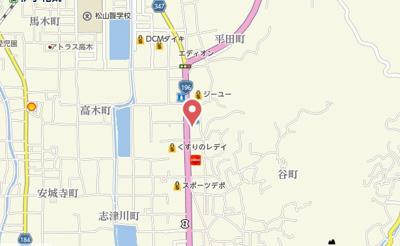 【地図】アンジェ・プロムナードB