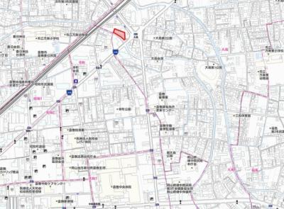 大島 AXIA倉敷 2DK 地図