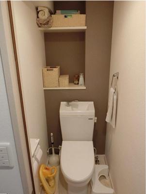 唯一ひとりの時間ができる場所!清潔な洗浄機能付温水シャワートイレ