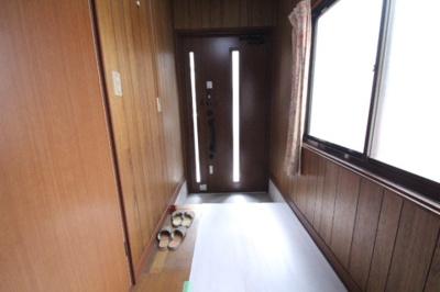 【玄関】戸坂くるめ木貸家