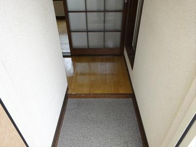 【玄関】松原フラット