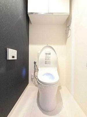 ジョイフル門前仲町第1のトイレです。