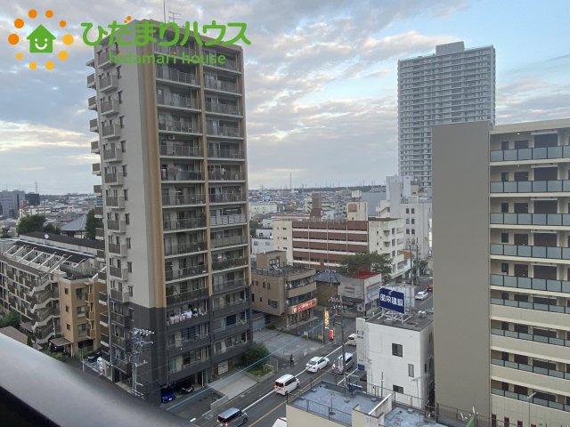 【バルコニー】上尾市上町1丁目 中古マンション コスモ上尾ステーションアベニュー