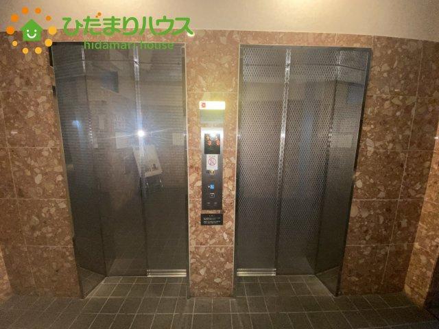 【エントランス】上尾市上町1丁目 中古マンション コスモ上尾ステーションアベニュー