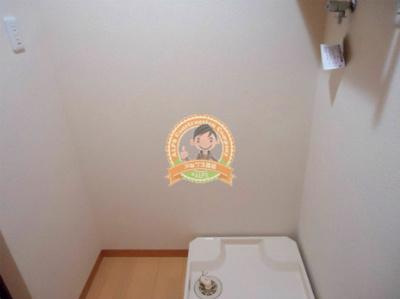 もちろん室内洗濯機置場完備(同一仕様)