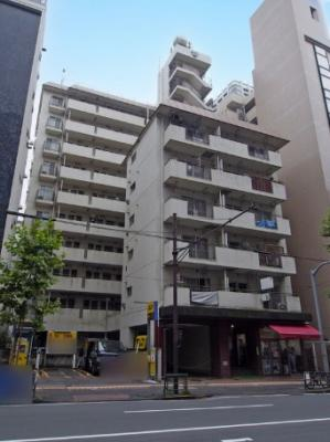 五反田サマリヤマンションの外観です。