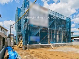 土地面積:128.00㎡【約38.72坪】 建物面積:99.36㎡【約30.05坪】の大型4LDKです