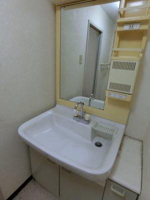 【独立洗面台】ビラカーサお花茶屋