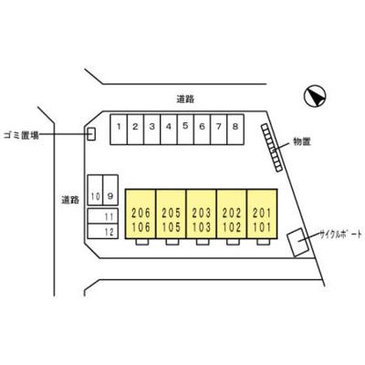 【区画図】Droom前沢