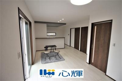 【居間・リビング】山陽小野田市東高泊 新築 4LDK