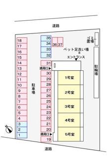 【区画図】アルコ・イーリス