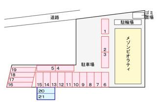 【区画図】メゾン ビオラティ