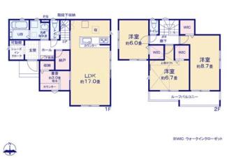 土地面積 151.23㎡ 建物面積 107.85㎡