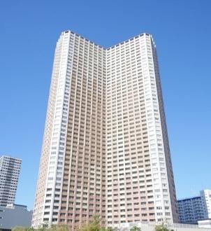 芝浦アイランドケープタワーの外観です。
