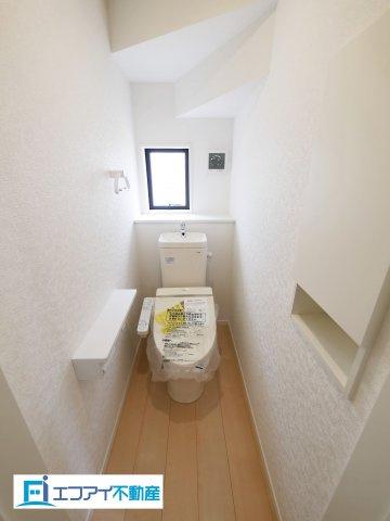 【トイレ】東海市加木屋町小清水 新築分譲戸建