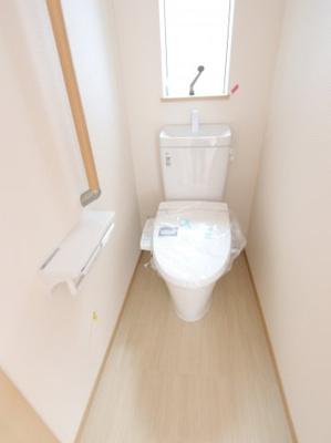 トイレです:建物完成しました♪♪毎週末オープンハウス開催♪三郷新築ナビで検索♪