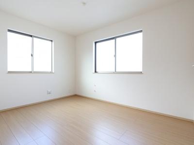 スタンダードな洋室です:建物完成しました♪♪毎週末オープンハウス開催♪三郷新築ナビで検索♪