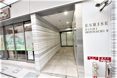 【エントランス】エスライズ西本町Ⅱ