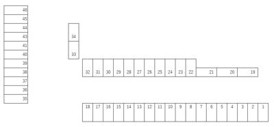 【区画図】三ツ谷町駐車場I