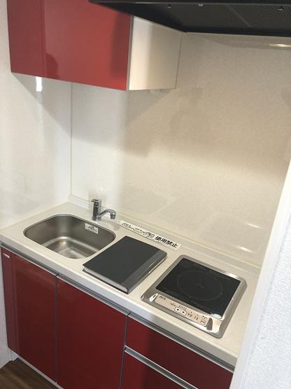 新規交換をしたシステムキッチン