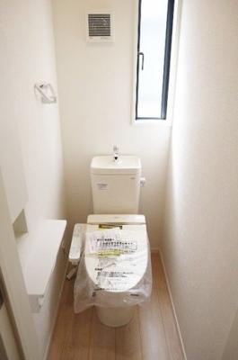 【トイレ】岸和田市上野町西第2期 1号棟 新築戸建