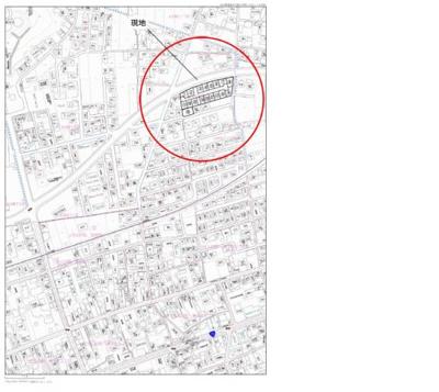【地図】土佐山田町