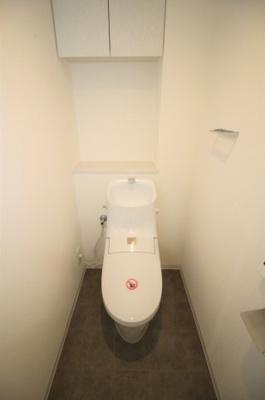 一体型トイレです。