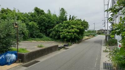 【前面道路含む現地写真】川内町竹須賀 土地