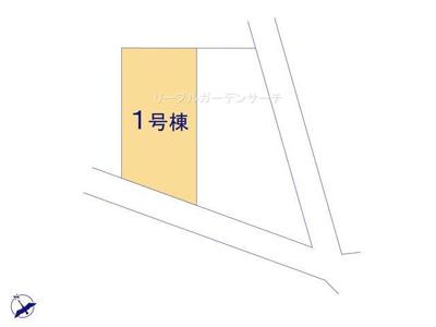 【区画図】リーブルガーデン 新築戸建て 館林西美園-全2棟-