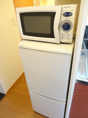☆冷蔵庫&電子レンジ付☆