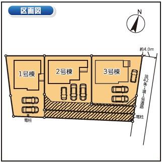 2号棟 カースペース並列で3台以上可能です。本日、建物内覧できます(^^)/住ムパルまでお電話下さい!