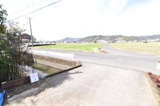 【前面道路含む現地写真】霧島市国分新町1丁目