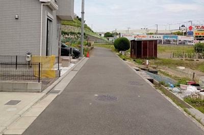 【前面道路含む現地写真】堺市中区小阪 戸建