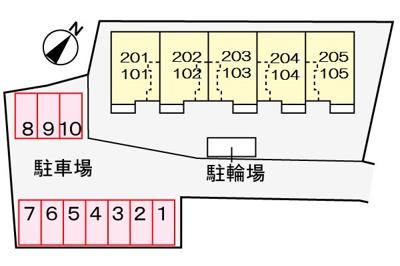 【区画図】フラワーヒルズ