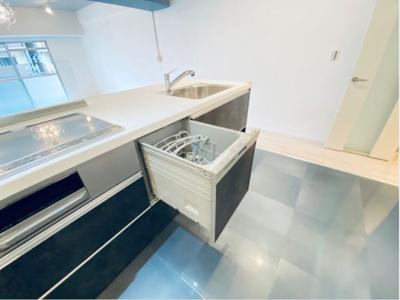 システムキッチン新調 食洗器新調