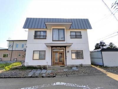 【外観】大館市早口字上野・中古住宅 リフォーム中