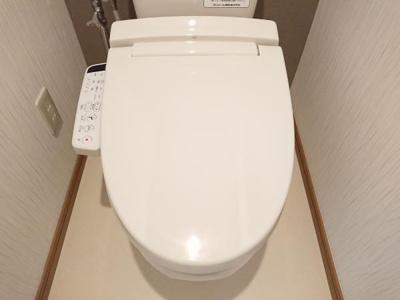 【トイレ】大館市小館花字萩野台・中古住宅 リフォーム中