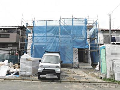 建築中現地(令和3年7月撮影)