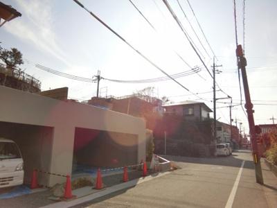 北白川山ノ元町 売地・カルバートガレージ車庫2台