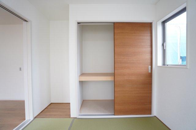 【同仕様施工例】和室押入 座布団やお布団、お子様のおもちゃなど収納できます。