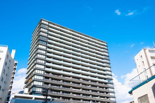 【外観】2015年築21階建て!竹中工務店施工の免震タワーレジデンス☆