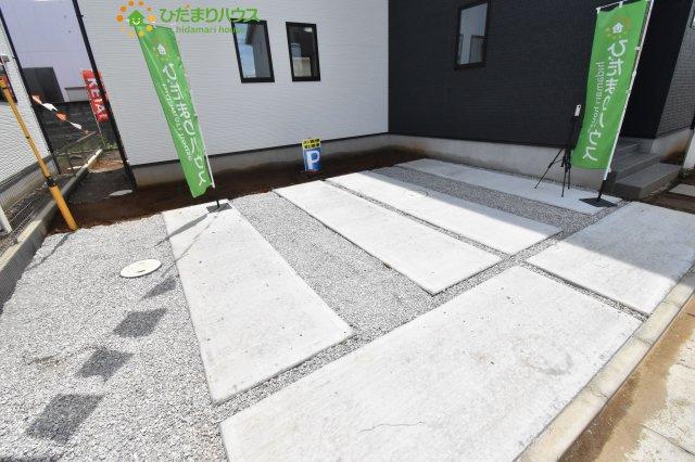 【駐車場】行田市本丸 2期 新築一戸建て Ricca 01